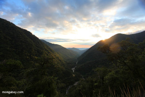 Cloud forest and valley in Andean Peru (Photo: Rhett A. Butler)