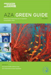 Building and Measuring Zoo & Aquarium Sustainability Plans, Volume 2