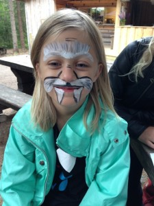 Face painting at Järvzoo and De5stora_S